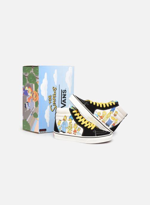 Baskets Vans SK8-Hi X The Simpsons W Noir vue 3/4