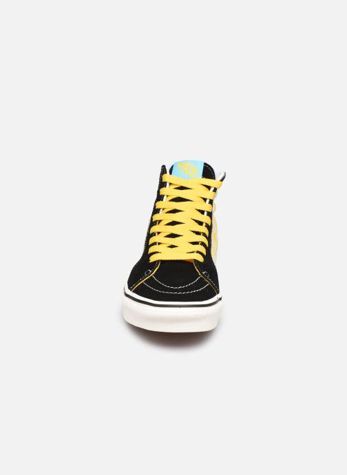Baskets Vans SK8-Hi X The Simpsons W Noir vue portées chaussures