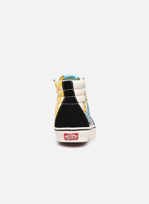 Baskets Vans SK8-Hi X The Simpsons W Noir vue droite