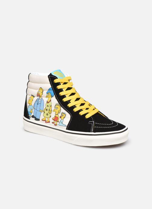 Baskets Vans SK8-Hi X The Simpsons W Noir vue détail/paire