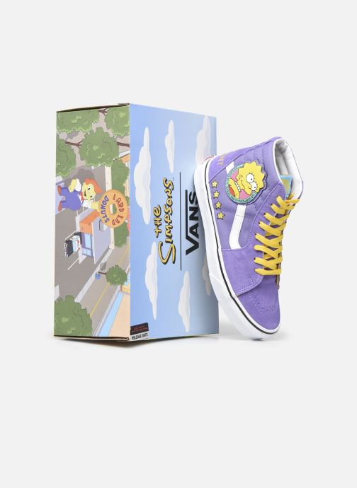 Deportivas Vans SK8-Hi X The Simpsons W Violeta      vista 3/4