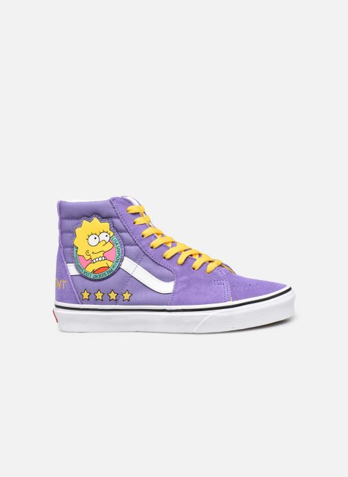Deportivas Vans SK8-Hi X The Simpsons W Violeta      vistra trasera