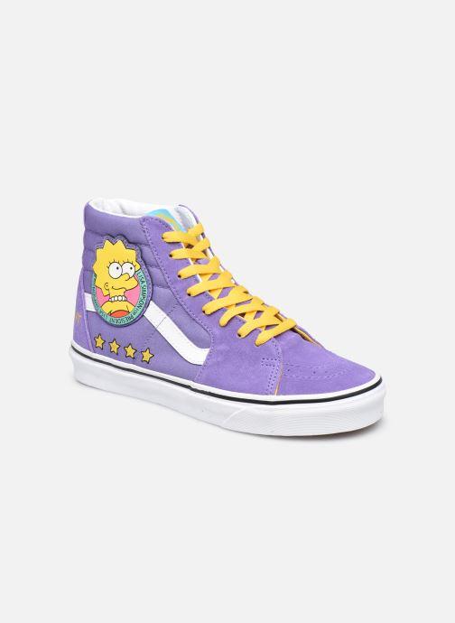 Deportivas Vans SK8-Hi X The Simpsons W Violeta      vista de detalle / par