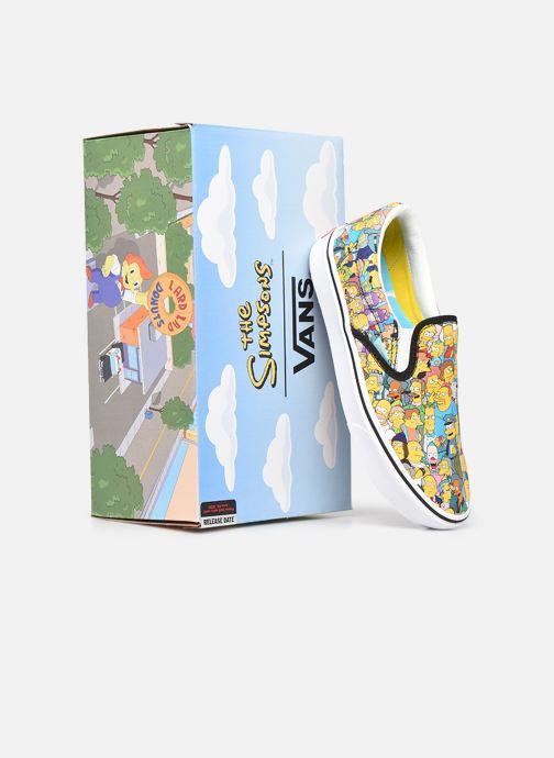Baskets Vans UA ComfyCush Slip-On X The Simpsons W Jaune vue 3/4