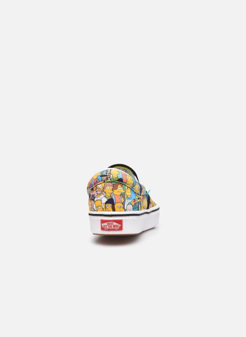 Sneaker Vans UA ComfyCush Slip-On X The Simpsons W gelb ansicht von rechts