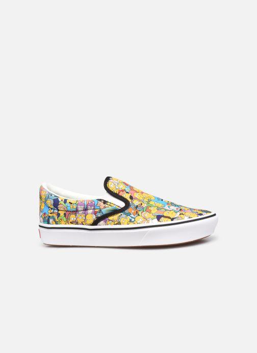Sneaker Vans UA ComfyCush Slip-On X The Simpsons W gelb ansicht von hinten