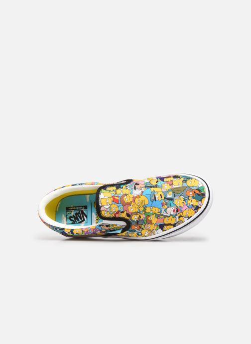 Sneaker Vans UA ComfyCush Slip-On X The Simpsons W gelb ansicht von links
