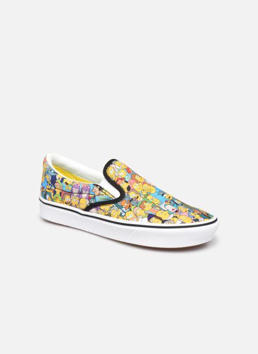 Sneaker Vans UA ComfyCush Slip-On X The Simpsons W gelb detaillierte ansicht/modell