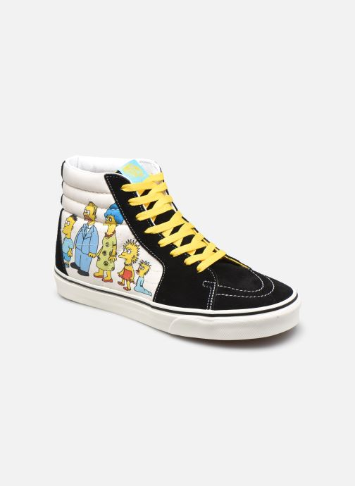 Deportivas Vans UA SK8-Hi X The Simpsons M Negro vista de detalle / par