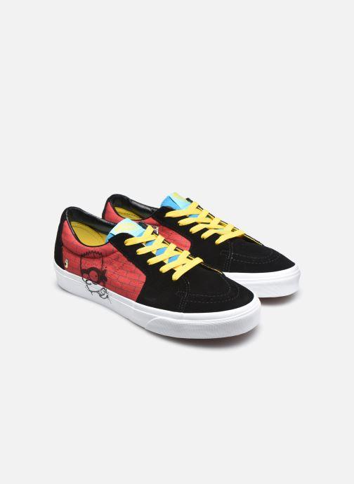 Baskets Vans UA SK8-Low X The Simpsons M Multicolore vue 3/4