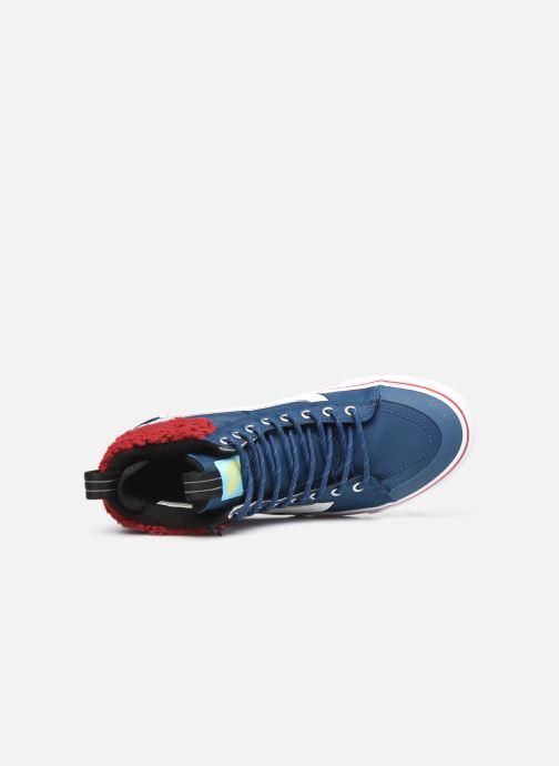 Sneaker Vans UA SK8-Hi MTE 2.0 DX X The Simpsons M blau ansicht von links