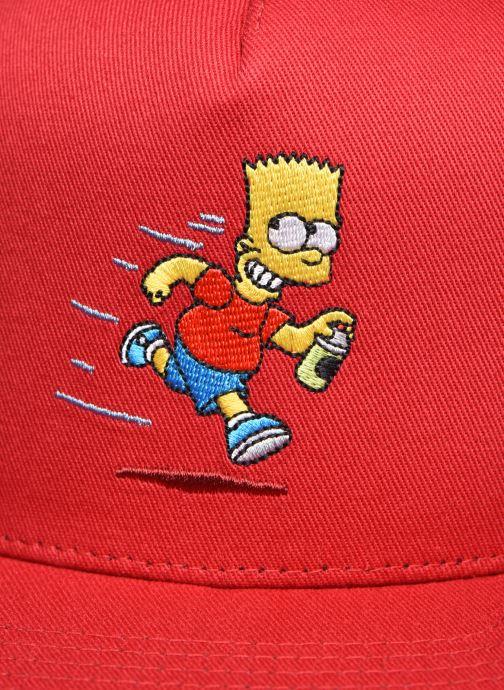 Casquettes Vans Vans X The Simpsons Snapback Rouge vue droite