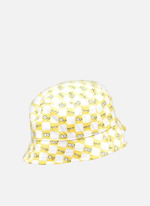 Bonnets Vans Vans X The Simpsons Check Eyes Bucket Jaune vue portées chaussures