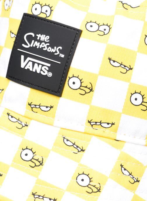 Bonnets Vans Vans X The Simpsons Check Eyes Bucket Jaune vue face