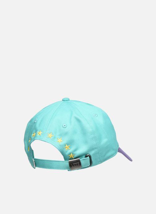 Cappellino Vans Vans X The Simpsons Lisa Hat Multicolore modello indossato