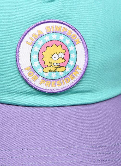 Cappellino Vans Vans X The Simpsons Lisa Hat Multicolore immagine destra