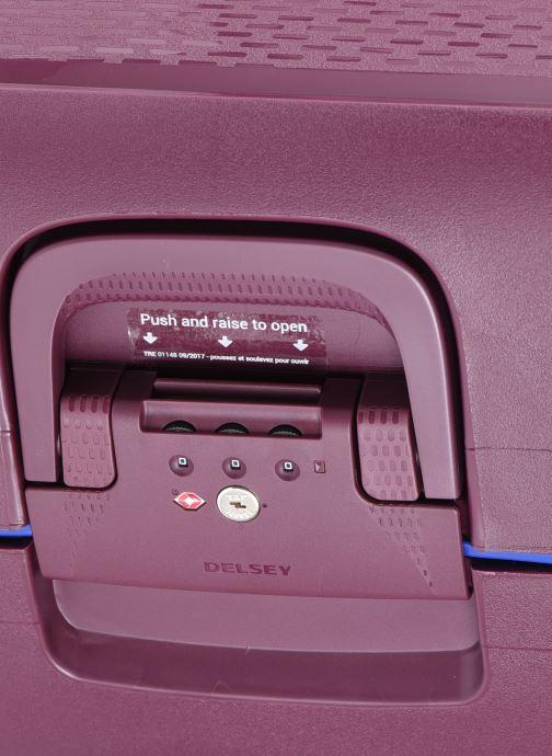 Bagagli Delsey Moncey Val Tr 4Dr 76 Viola immagine sinistra