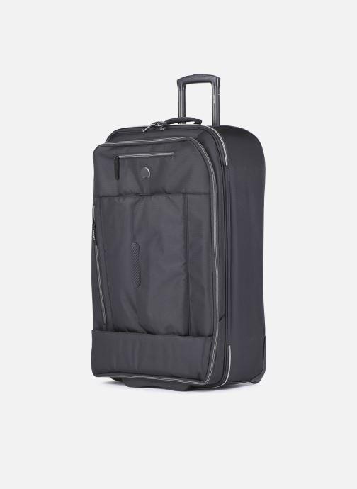 Bagagli Delsey Tramontane Val Tr Exp 2R 77 Nero modello indossato