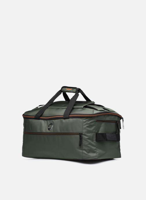 Bagagli Delsey Tramontane Sac Voyage Cab 55 Verde modello indossato