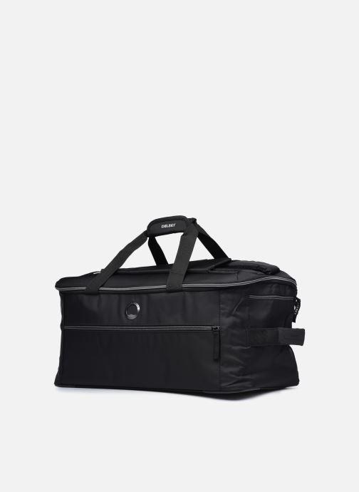 Bagagli Delsey Tramontane Sac Voyage Cab 55 Nero modello indossato