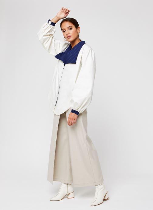 Vêtements Sarenza x Salut Beauté Jupe-Culotte Cook Beige vue bas / vue portée sac