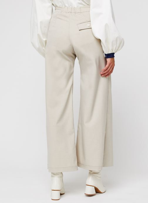 Vêtements Sarenza x Salut Beauté Jupe-Culotte Cook Beige vue portées chaussures