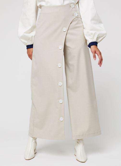 Vêtements Sarenza x Salut Beauté Jupe-Culotte Cook Beige vue détail/paire