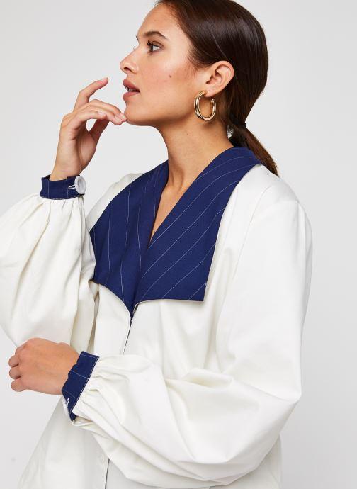 Vêtements Sarenza x Salut Beauté Chemise Sailor Blanc vue face