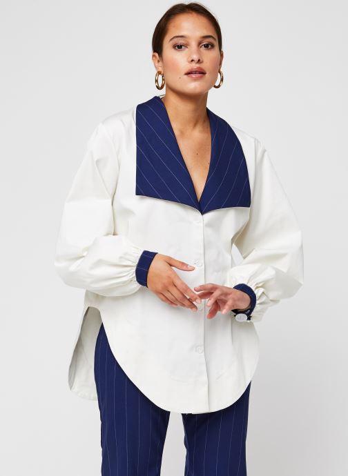 Vêtements Sarenza x Salut Beauté Chemise Sailor Blanc vue droite