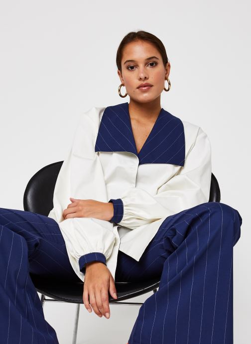 Vêtements Sarenza x Salut Beauté Chemise Sailor Blanc vue détail/paire