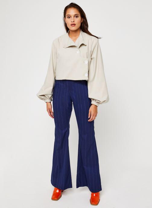 Vêtements Sarenza x Salut Beauté Pantalon Sailor Bleu vue bas / vue portée sac
