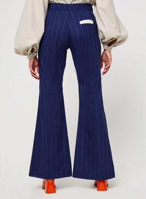 Vêtements Sarenza x Salut Beauté Pantalon Sailor Bleu vue portées chaussures