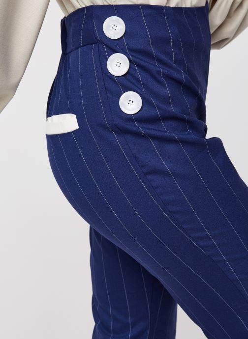 Vêtements Sarenza x Salut Beauté Pantalon Sailor Bleu vue face