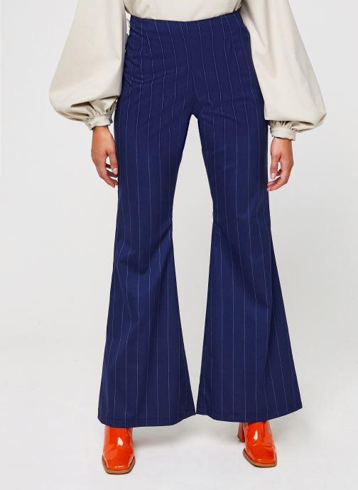 Vêtements Sarenza x Salut Beauté Pantalon Sailor Bleu vue détail/paire