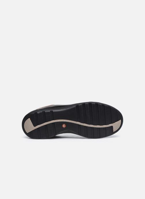 Sneaker Clarks Unstructured Un Adorn Lace Largeur E silber ansicht von oben