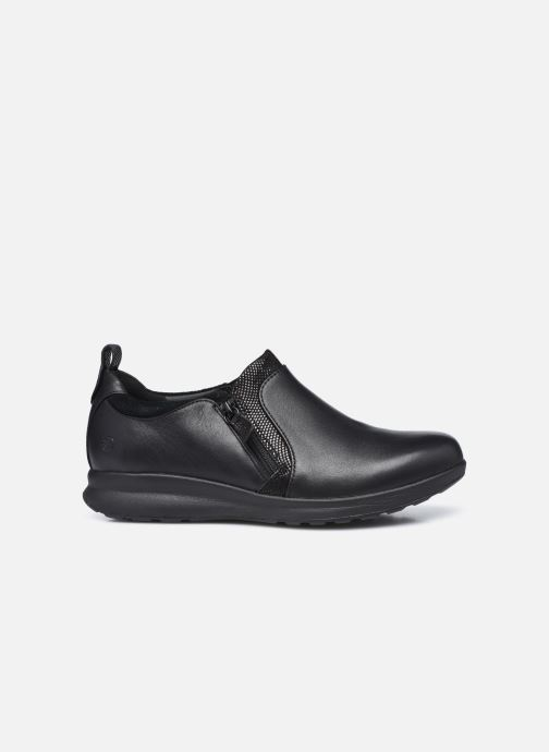 Sneakers Clarks Unstructured Un Adorn Zip Largeur E Nero immagine posteriore