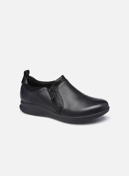 Sneakers Clarks Unstructured Un Adorn Zip Largeur E Nero vedi dettaglio/paio