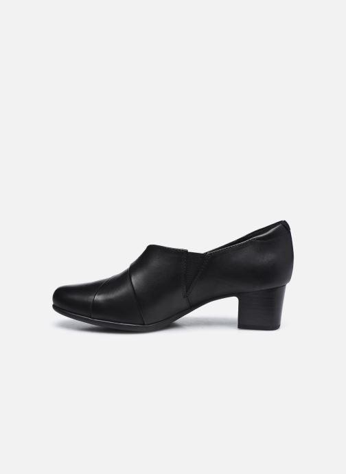 Bottines et boots Clarks Unstructured Un Damson Adele Noir vue face