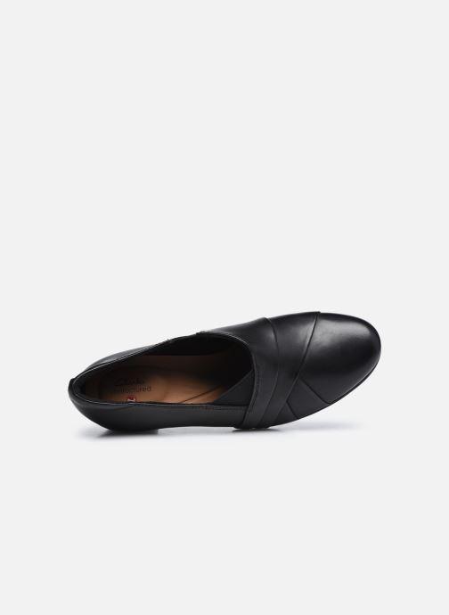 Bottines et boots Clarks Unstructured Un Damson Adele Noir vue gauche