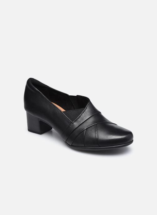 Bottines et boots Clarks Unstructured Un Damson Adele Noir vue détail/paire