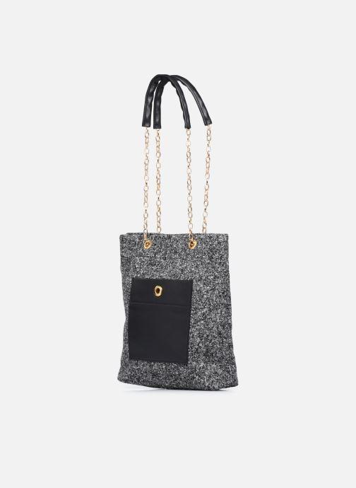 Handtaschen Sabrina Cristina schwarz schuhe getragen
