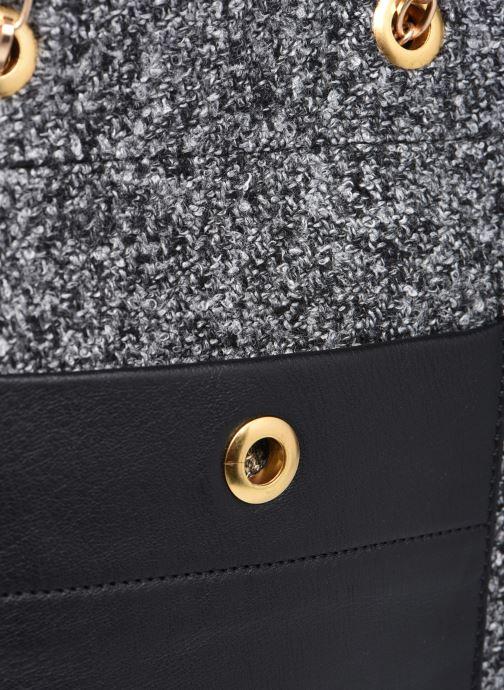 Handtaschen Sabrina Cristina schwarz ansicht von links