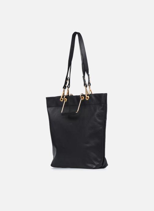 Handtaschen Sabrina Callie schwarz ansicht von rechts