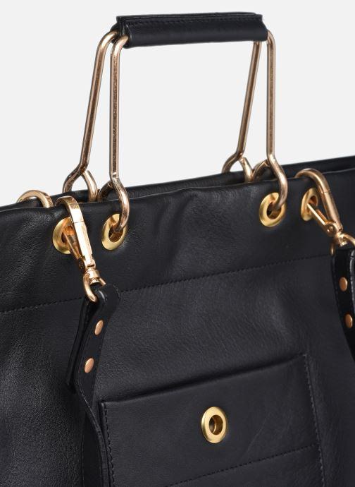 Handtaschen Sabrina Callie schwarz ansicht von links