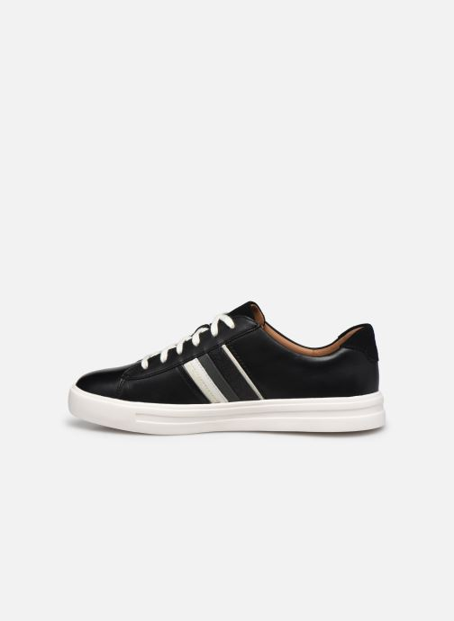 Sneakers Clarks Unstructured Un Maui Band Nero immagine frontale