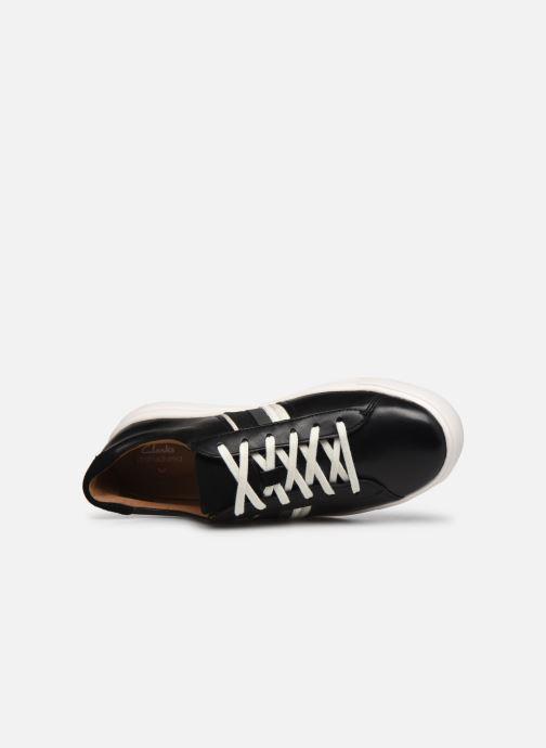 Sneaker Clarks Unstructured Un Maui Band schwarz ansicht von links