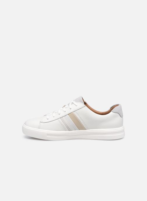 Sneakers Clarks Unstructured Un Maui Band Bianco immagine frontale
