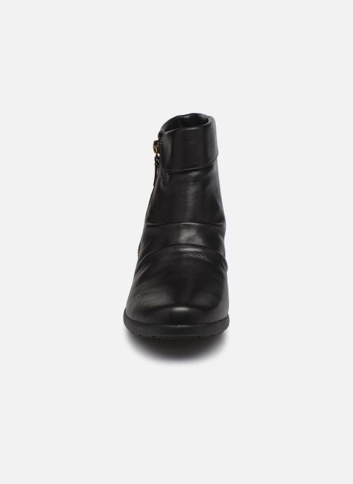 Stiefeletten & Boots Clarks Unstructured Rosely Zip schwarz schuhe getragen