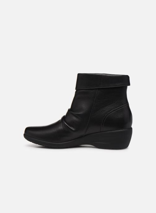 Stiefeletten & Boots Clarks Unstructured Rosely Zip schwarz ansicht von vorne