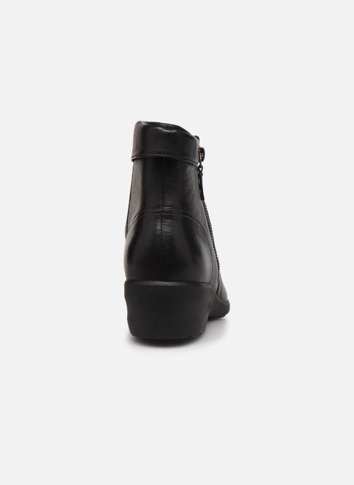 Stiefeletten & Boots Clarks Unstructured Rosely Zip schwarz ansicht von rechts